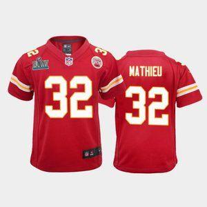 Youth Chiefs Tyrann Mathieu Super Bowl LIV Jerseys